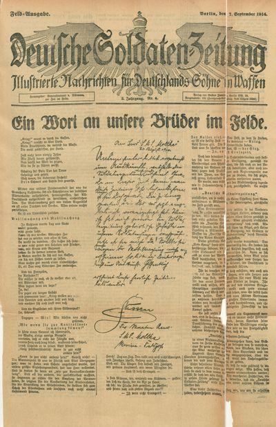 08d719f9788 Digitalisierte Sammlungen der Staatsbibliothek zu Berlin Werkansicht   Deutsche Soldaten-Zeitung(PPN77848842X - PHYS 0001 - fulltext-endless)