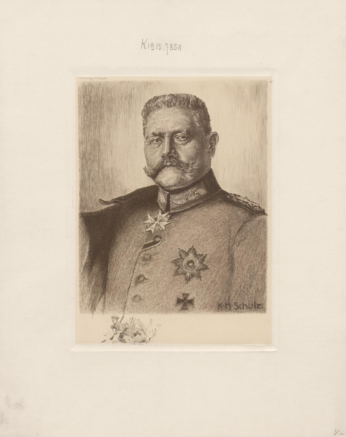 [Bildnis Paul von Hindenburg]
