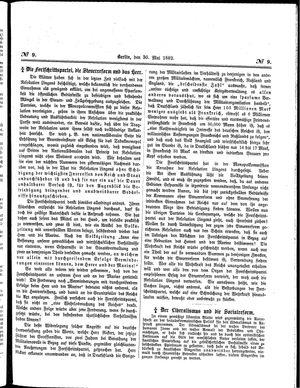 Neueste Mittheilungen vom 30.05.1882