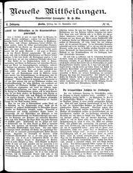 Neueste Mittheilungen (23.09.1887)