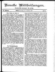 Neueste Mittheilungen (23.02.1888)