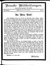 Neueste Mittheilungen (19.06.1888)