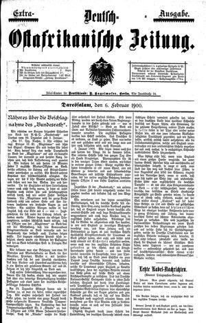 Deutsch-Ostafrikanische Zeitung vom 06.02.1900