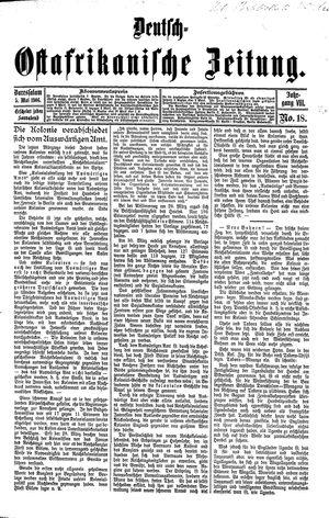 Deutsch-Ostafrikanische Zeitung vom 05.05.1906