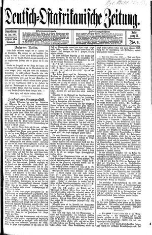 Deutsch-Ostafrikanische Zeitung vom 26.01.1907