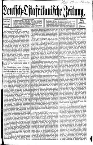 Deutsch-Ostafrikanische Zeitung vom 02.02.1907