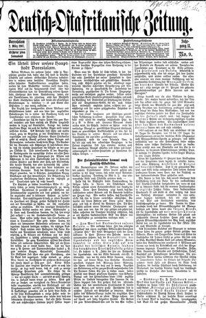 Deutsch-Ostafrikanische Zeitung vom 02.03.1907