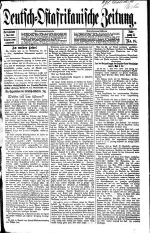 Deutsch-Ostafrikanische Zeitung vom 04.05.1907