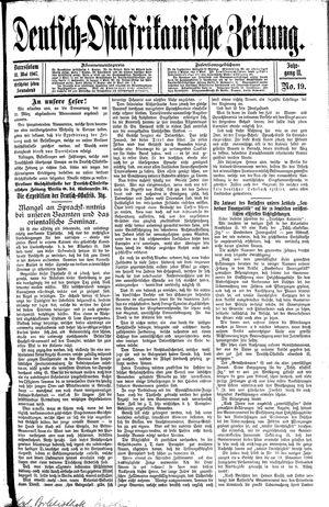 Deutsch-Ostafrikanische Zeitung vom 11.05.1907