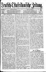 Deutsch-Ostafrikanische Zeitung (08.07.1907)