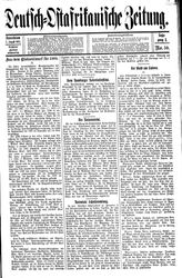 Deutsch-Ostafrikanische Zeitung