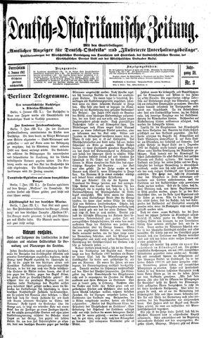 Deutsch-Ostafrikanische Zeitung vom 08.01.1913