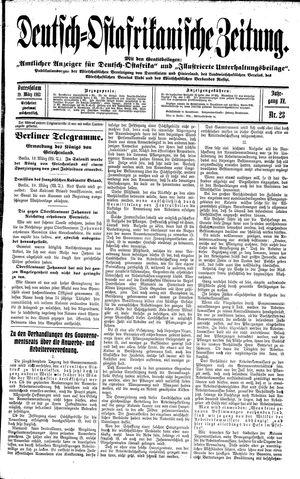 Deutsch-Ostafrikanische Zeitung on Mar 19, 1913