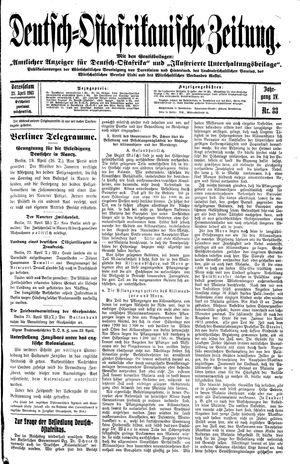 Deutsch-Ostafrikanische Zeitung on Apr 23, 1913