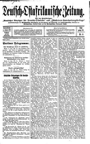 Deutsch-Ostafrikanische Zeitung vom 17.01.1914