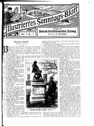 Deutsch-Ostafrikanische Zeitung vom 24.01.1914