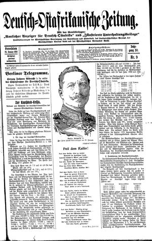 Deutsch-Ostafrikanische Zeitung vom 28.01.1914