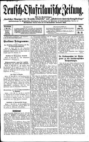 Deutsch-Ostafrikanische Zeitung vom 02.05.1914
