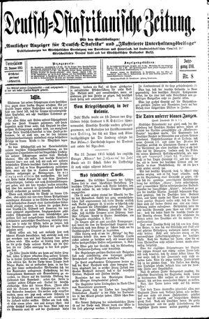 Deutsch-Ostafrikanische Zeitung on Jan 23, 1915