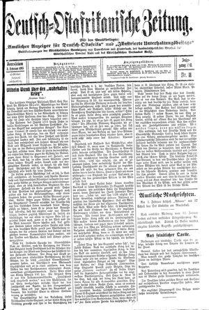 Deutsch-Ostafrikanische Zeitung vom 03.02.1915