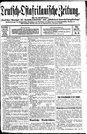 Deutsch-Ostafrikanische Zeitung vom 03.03.1915