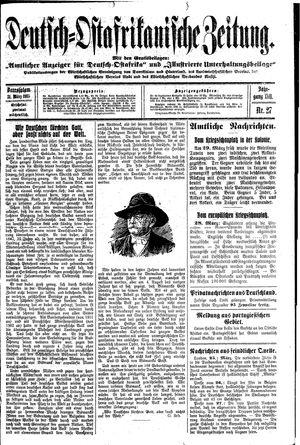Deutsch-Ostafrikanische Zeitung vom 31.03.1915