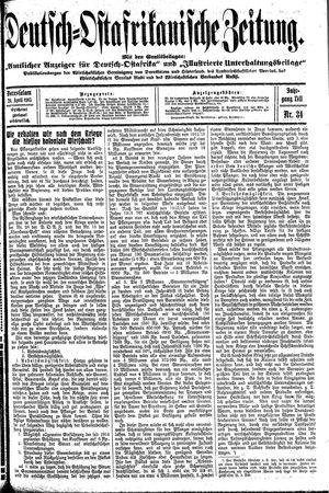 Deutsch-Ostafrikanische Zeitung vom 24.04.1915