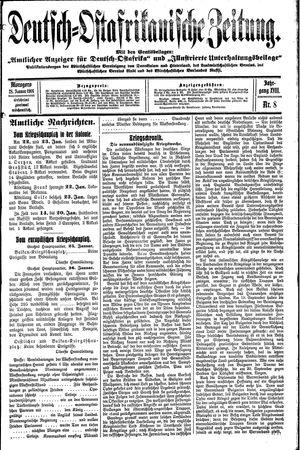 Deutsch-Ostafrikanische Zeitung vom 28.01.1916