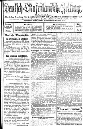 Deutsch-Ostafrikanische Zeitung vom 01.02.1916