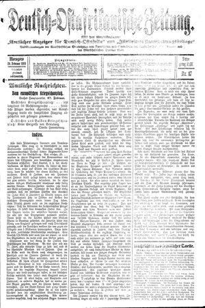 Deutsch-Ostafrikanische Zeitung vom 29.02.1916