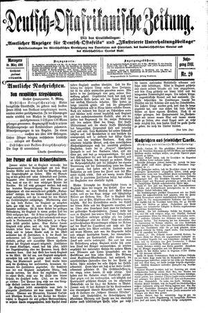 Deutsch-Ostafrikanische Zeitung vom 10.03.1916