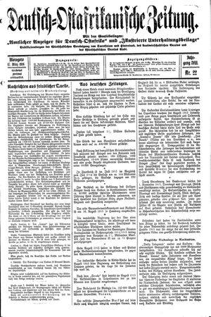 Deutsch-Ostafrikanische Zeitung vom 17.03.1916