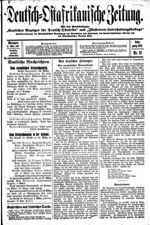 Deutsch-Ostafrikanische Zeitung vom 21.03.1916