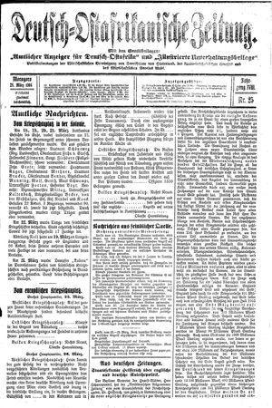 Deutsch-Ostafrikanische Zeitung vom 28.03.1916