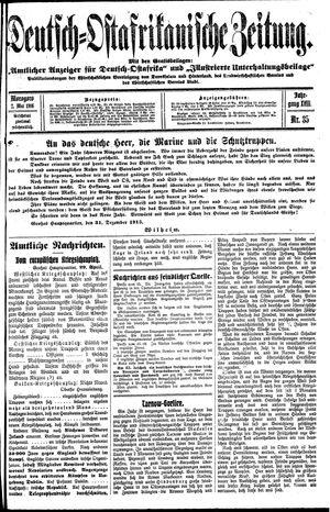 Deutsch-Ostafrikanische Zeitung vom 02.05.1916