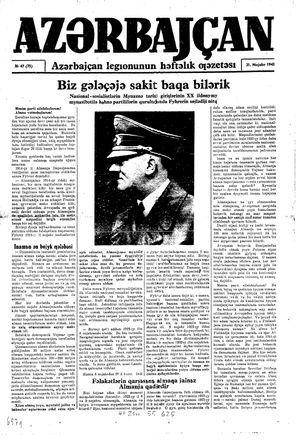 Azärbajçan vom 21.11.1943