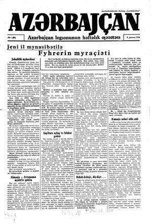 Azärbajçan on Jan 8, 1944