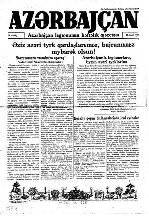 Azärbajçan vom 20.03.1944