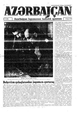 Azärbajçan vom 18.04.1944