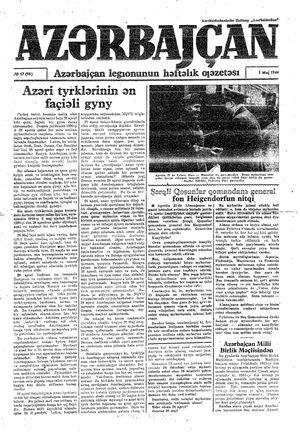Azärbajçan vom 01.05.1944