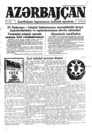 Azärbajçan vom 29.05.1944