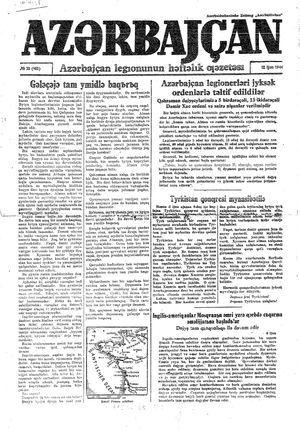 Azärbajçan vom 12.06.1944