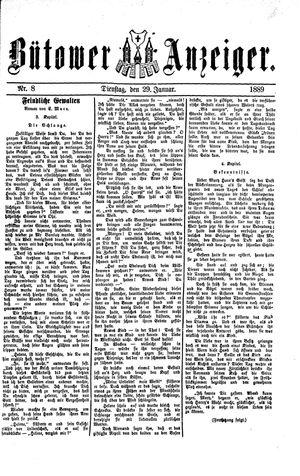 Bütower Anzeiger vom 29.01.1889