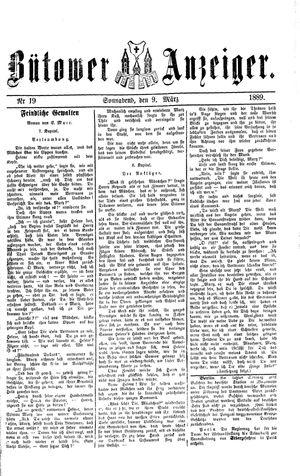 Bütower Anzeiger vom 09.03.1889