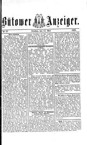 Bütower Anzeiger vom 14.05.1889