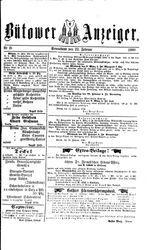 Bütower Anzeiger (22.02.1890)