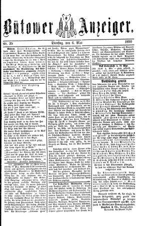 Bütower Anzeiger vom 06.05.1890