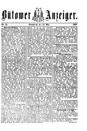 Bütower Anzeiger vom 10.05.1890