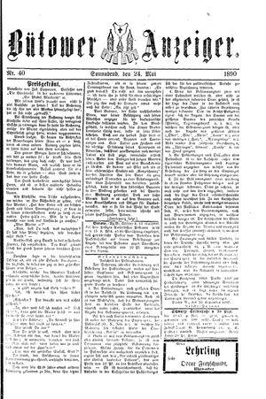 Bütower Anzeiger vom 24.05.1890
