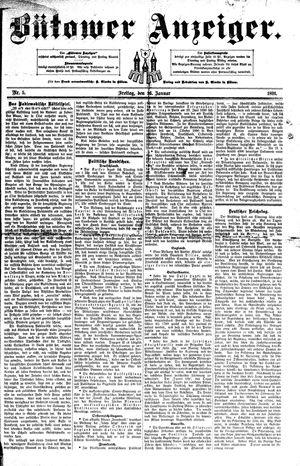 Bütower Anzeiger vom 16.01.1891